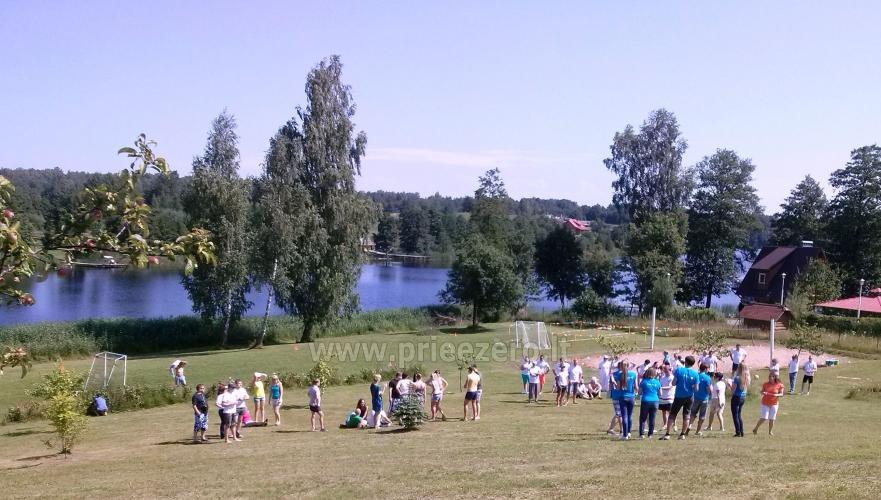 Tradicionālo pasākumu un korporatīvo pasākumu viesību māja pie ezera Traku rajonā, Lietuvā - 5