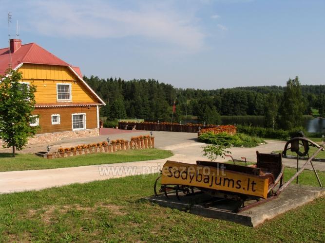 Tradicionālo pasākumu un korporatīvo pasākumu viesību māja pie ezera Traku rajonā, Lietuvā - 8
