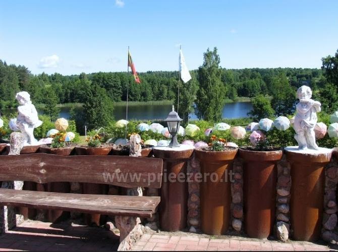 Tradicionālo pasākumu un korporatīvo pasākumu viesību māja pie ezera Traku rajonā, Lietuvā - 4