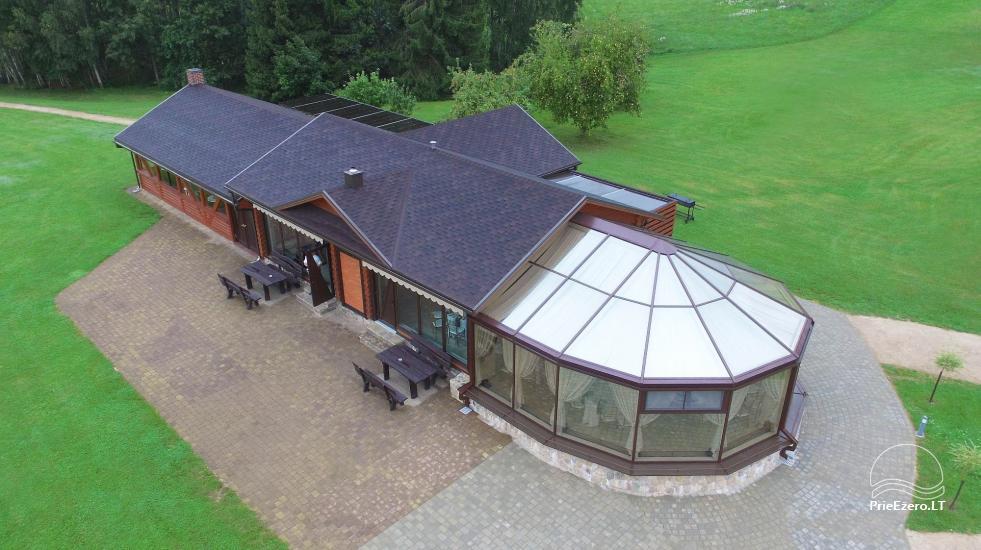 PAS ŠEŠTOKĄ villa Molėtų rajonā pie ezera (80 vietas) - 5