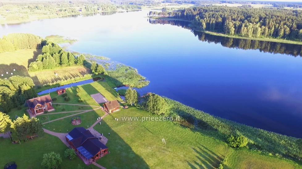 PAS ŠEŠTOKĄ villa Molėtų rajonā pie ezera (80 vietas) - 3
