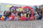 Klaipēdas jaunieši aicina izvilkt lietussargus