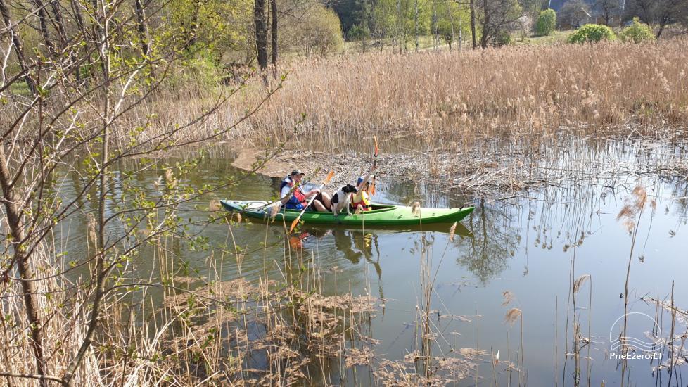 Kayak īre Ignalina rajonā, Lietuva - 1