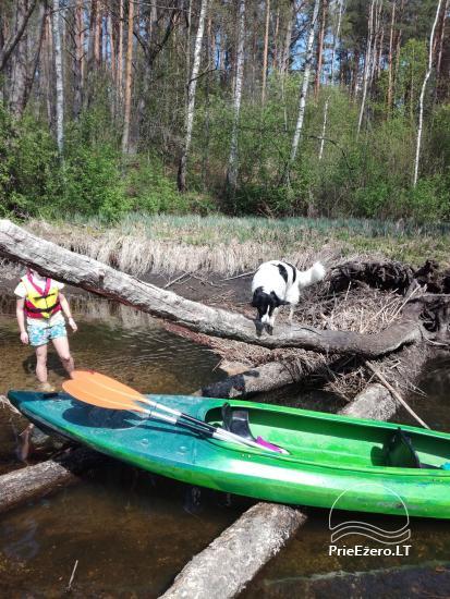 Kayak īre Ignalina rajonā, Lietuva - 3