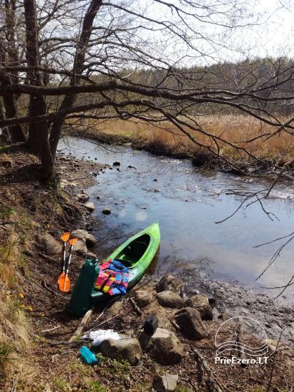 Kayak īre Ignalina rajonā, Lietuva - 4