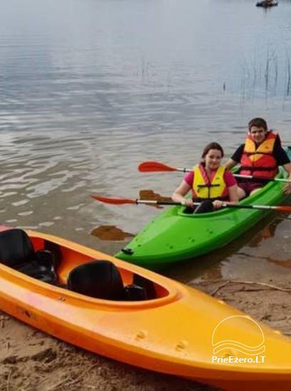 Kayak īre Ignalina rajonā, Lietuva - 6