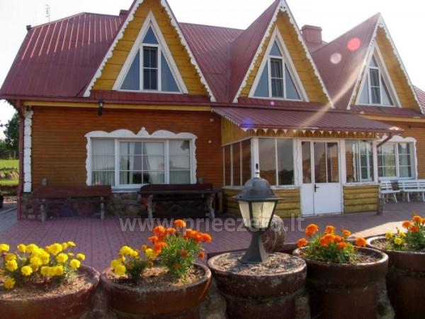 Viesu nams ezera krastā starp Vilņu un Kauņu dažādiem pasākumiem un svinībām - 6