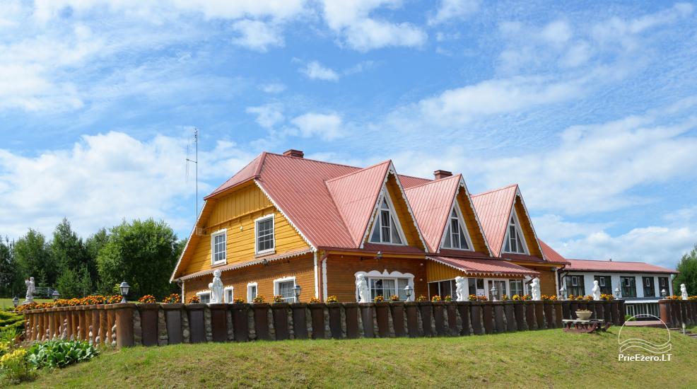 Viesu nams ezera krastā starp Vilņu un Kauņu dažādiem pasākumiem un svinībām - 4