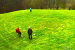 Montebols - jauna sporta spēle viensētā Pagriaumėlė