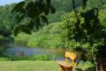 Tūrisma nometne salidojumā, izklaides, kajaks braucieni Minijos senvage