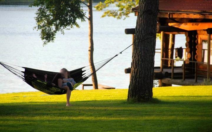 Lauku tūrisms komplekss Trakai reģionā uz krasta ezera Margio Krantas - 1