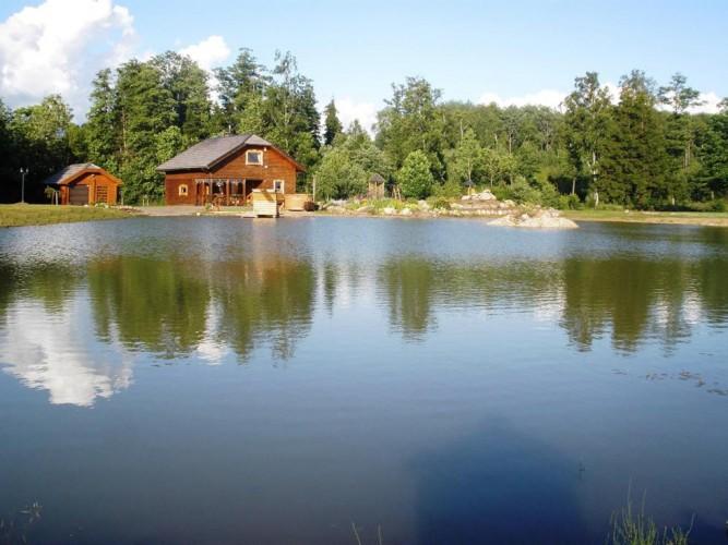 Banketu zale lauku mājā Radvilišķu rajonā Zinenai - 8