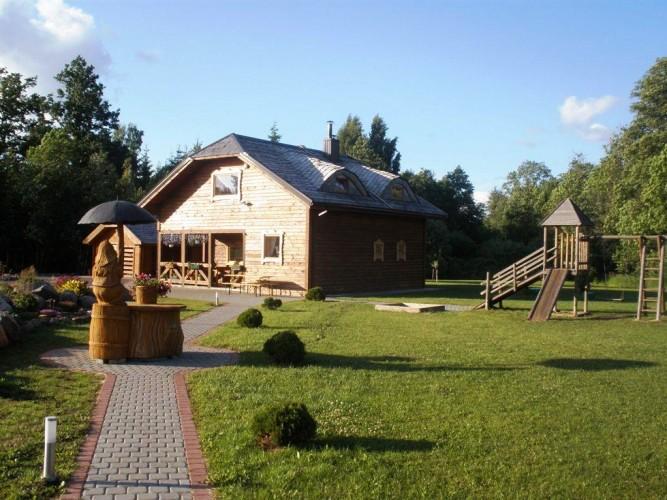 Banketu zale lauku mājā Radvilišķu rajonā Zinenai - 10