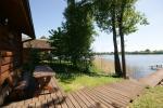 Mājiņas, pirts pie ezera Galstas