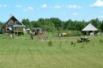 Makšķerēšana, biljards, galda teniss, futbols un basketbola tiesām lauku seta Antalakaja - 9