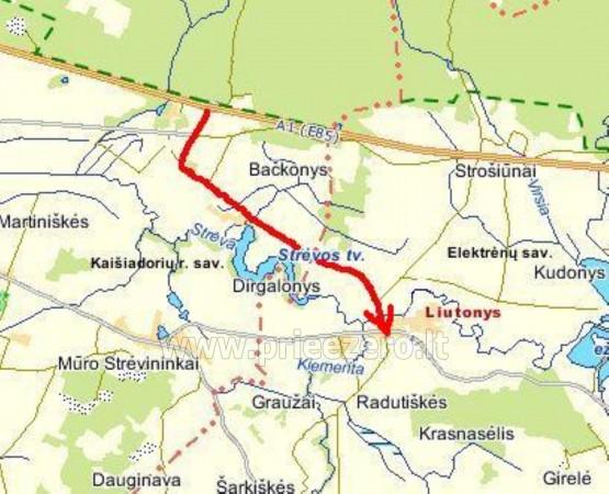 Smailītes īre Kaišiadorys rajonā pie upes Strėva - 22