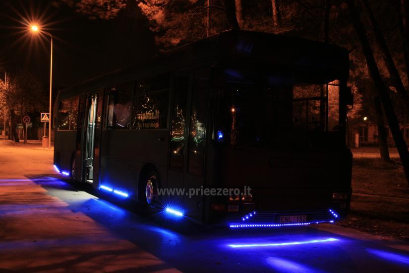 VIP autobusu noma - 3