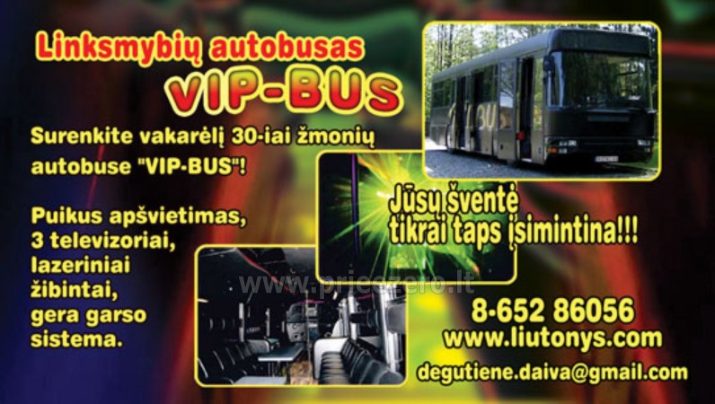 VIP autobusu noma - 11