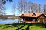 Lauku tūrisms komplekss Trakai reģionā uz krasta ezera Margio Krantas