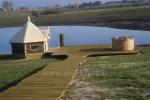 """Pirts un kubls sētā """"Raganyne"""" in Kelmes rajonā, pie ezera Gilius"""