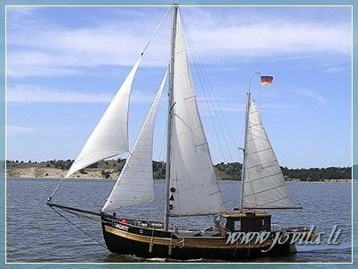 Buru Kuršu un Nemunas deltā, jūra - laivu brauciens no Nidā, Klaipēdā, Minge - 2