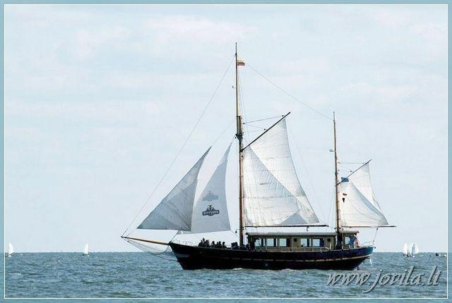 Buru Kuršu un Nemunas deltā, jūra - laivu brauciens no Nidā, Klaipēdā, Minge - 3