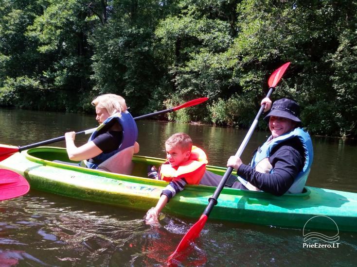 Ekskursijas un makšķerēšana, kanoe noma. Sēta Dzukijos Uoga - 1