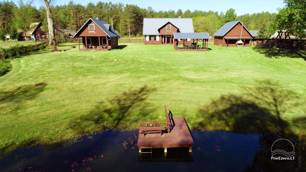 Ekskursijas un makšķerēšana, kanoe noma. Sēta Dzukijos Uoga - 13