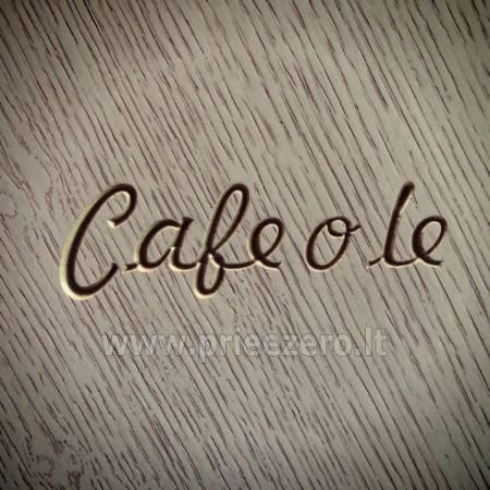 Café o lé - kafejnīca svinībām unikālā vietā - 1