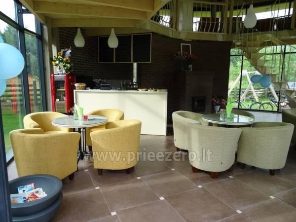 Café o lé - kafejnīca svinībām unikālā vietā - 12
