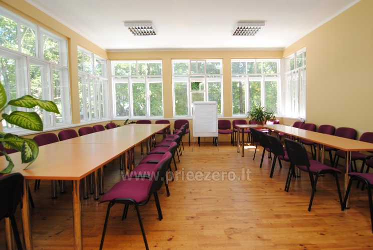 Konferenču zāle, kafejnīca viesu namā DruskininkosParko vila - 1