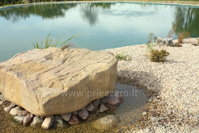 Pirts un kubls Lauku mājā pie ezera AKMENIU DVARAS - 4