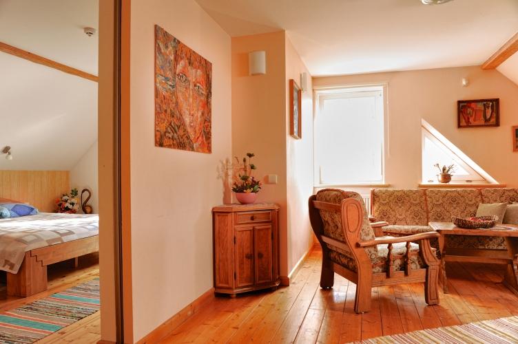 Apartamenti, pirts lauku maja - viesu nami pie juras PROVINCIJA - 15