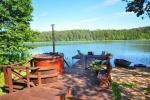 Atpūtas pie ezera Zeimenis Lietuvā - 19
