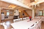 Galvenais guļbaļķu māja ar virtuvi - 2