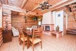 Guļbaļķu māja ar viesu virtuvē - 15