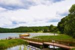 200 metru attālumā: ezers, laivu noma, bērnu rotaļu laukums, basketbola un volejbola laukums - 9