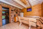 Brīvdienu māja līdz 8 personām ar pirti, viesistabu, virtuvi, guļamistabu un privātu pagalmu - 3