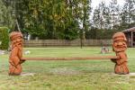 Bērnu spēļu laukums, šūpoles - 5