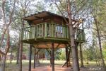 Potītes - divvietīga māja kokos - 8