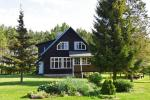Māja ar banketu zāli un saunu līdz 18 viesiem. Cena - 280 € par nakti - 1