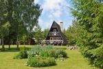 Brīvdienu māja ar kamīnu līdz 5 personām Nr. 1. Cena - 90 € par nakti - 2