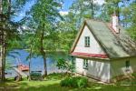 Brīvdienu māja līdz 6 personām ezera krastā - 1
