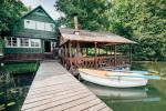 Brīvdienu māja ar saunu ezera krastā - 1